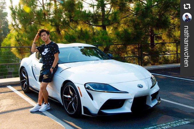 チェン、白く輝く500万円超日本車との1枚に米注目「Youみたいにクールになりたい」