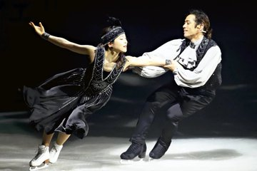 高橋大輔「やはり歌は慣れないですね」…セリフある芝居に美声も披露