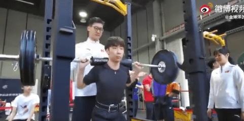 【映像あり】ボーヤンさんのトレーニング風景が公開!