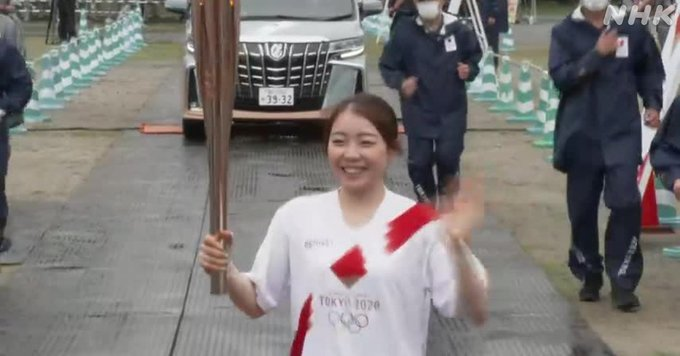 紀平梨花、聖火ランナーに!  …東京2020オリンピック聖火リレー …