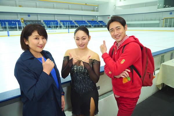 安藤美姫、連ドラ初出演!美しいスケート演技も披露
