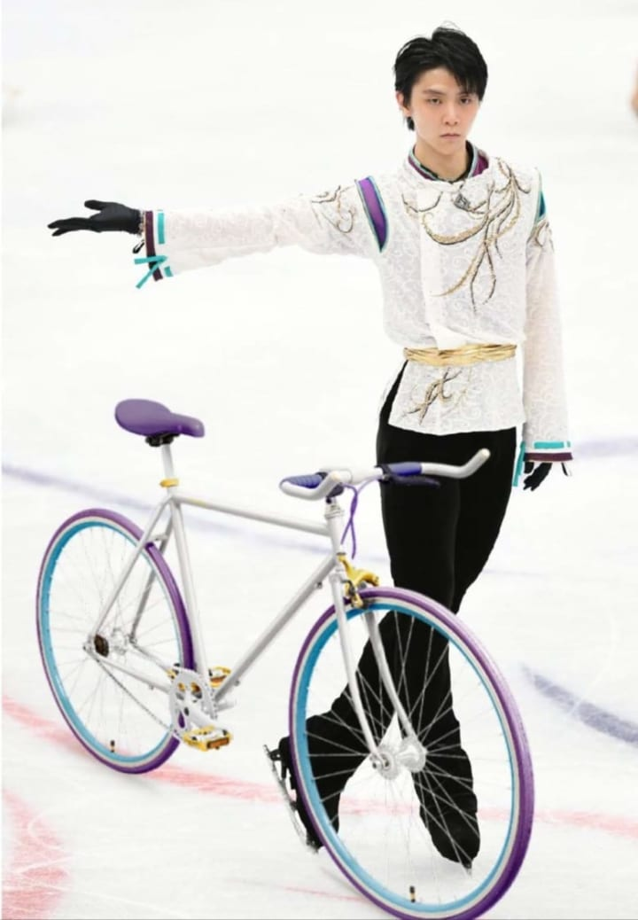 SEIMEIカラーの自転車があった!?