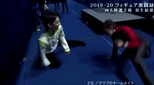 【動画】Yuzuru & Jason「良い思い出!」