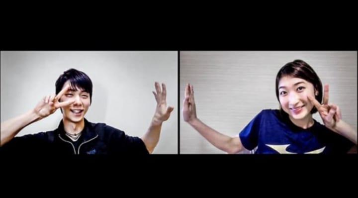 「Number」東京五輪特集で、池江璃花子と羽生結弦が初対談!「正直絡んでほしくないんだけど」「楽しそうだしコレはこれで良し」