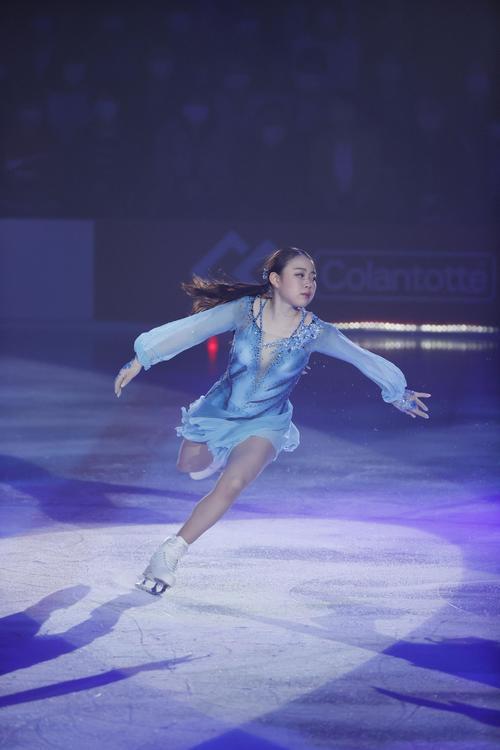 紀平梨花が19歳初の演技「レイン」披露「今まで頑張ってきたことを」