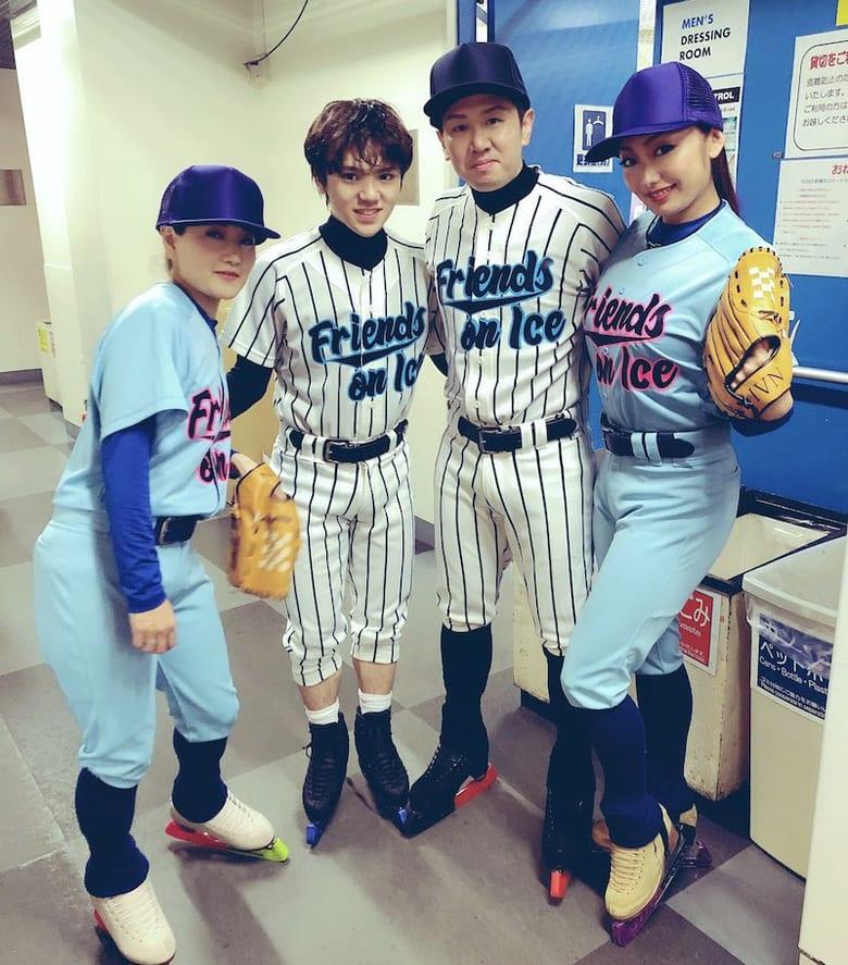 【投稿】昌磨くんは野球チーム「一昨年のフレンズはTOKYO五輪をイメージしたフィナーレでした」
