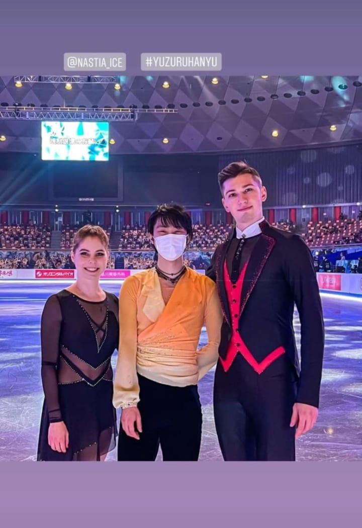 ロシアのペアの男性「史上最高のスケーターは羽生結弦」「イケメンは羽生に優しいの法則」