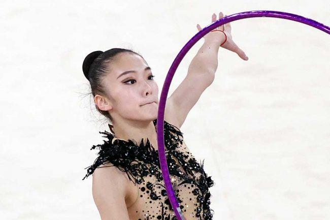 新体操・喜田純鈴の「妖精みたい」な衣装が話題 デザイナーは羽生結弦の衣装も担当