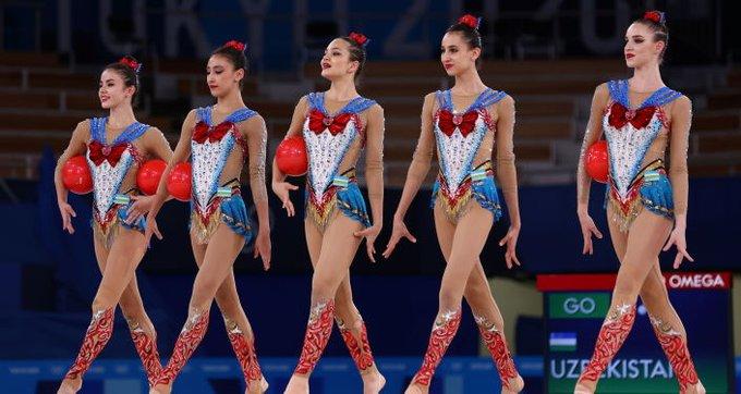 メドベージェワに続け? 東京五輪ウズベキスタン新体操団体 セーラームーンで話題