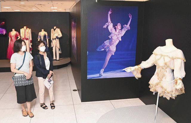 浅田真央さんショーを振り返る 名古屋高島屋で「サンクスツアー展」 -