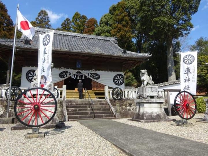 【投稿】車神社(くるまじんじゃ)「昌磨さんとトヨタ祈願してきたい」「ジュンファンの方が合ってそう」