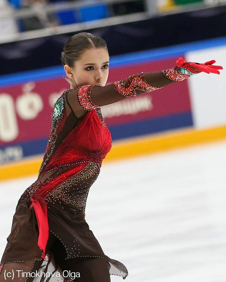 【動画】ロシア テストスケート 女子SP ワリエワ、トゥルソワ、シェルバコワ、コストルナヤらの演技が公開!
