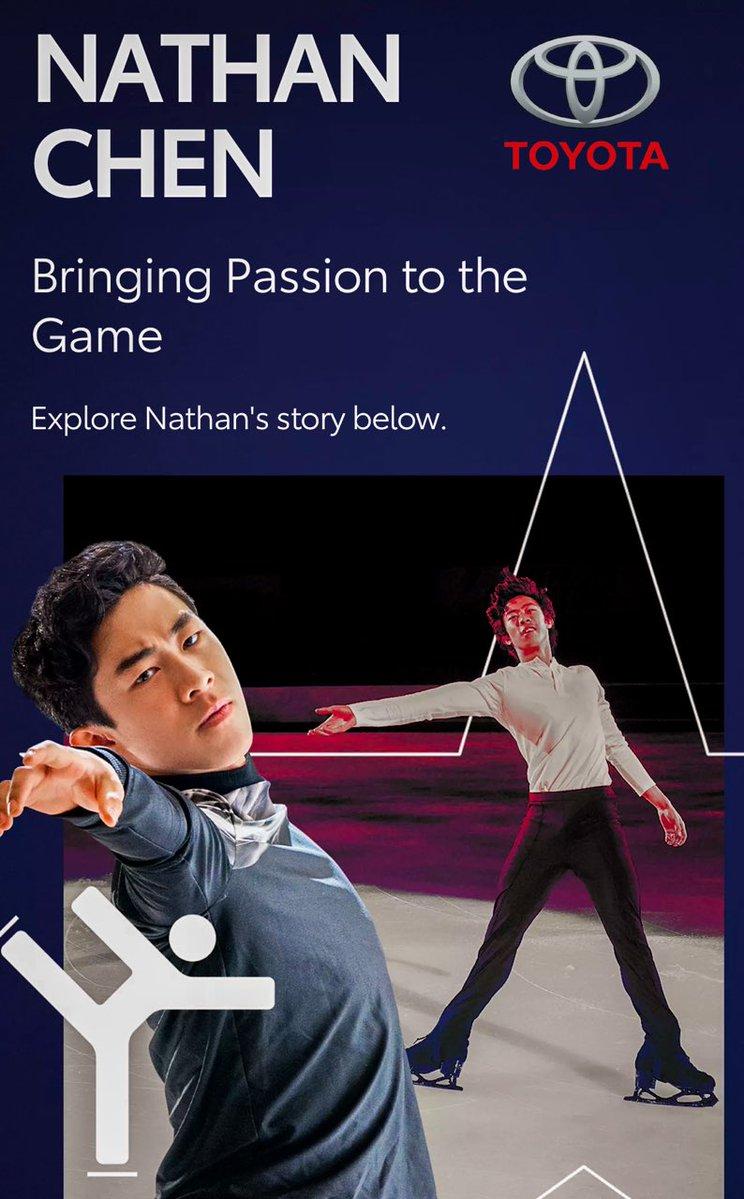 【投稿】チームトヨタ ネイサン・チェン選手のページも出来てました「フィギュアスケートのネイサンが誇るGR スープラとのトレーニング」
