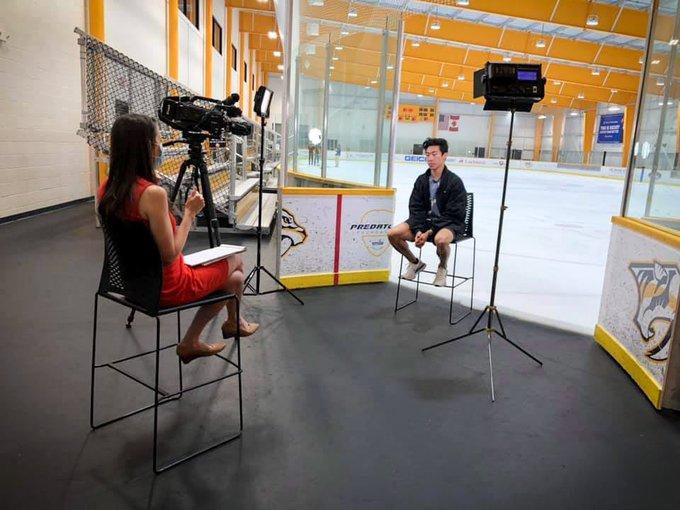 ネイサン・チェン、WSMV News4のインタビューを受ける! 〜北京Olympic2022に出場することになるスケーターとして〜
