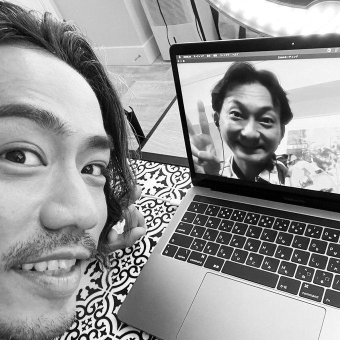 波岡一喜さんが、高橋大輔 さんとの写真を公開「だいすけと『LUXE』2幕を一緒に観ながらの想い出話からの脱線(笑)」