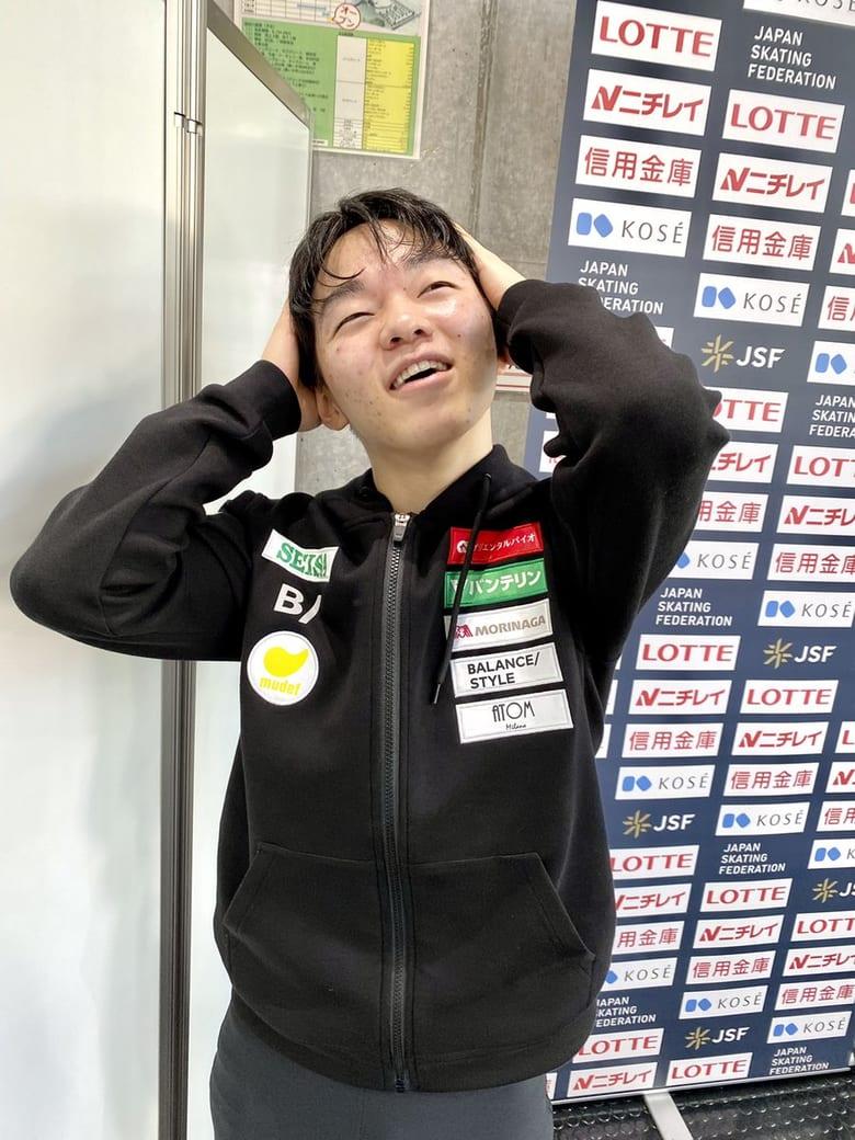 関東選手権 シニア男子 シードの鍵山優真選手が優勝「悔しい」「まだ体力が足りない」