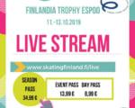 フィンランド杯2019がスタート! 日本から宇野昌磨 山本草太選手 横井ゆは菜が参戦!