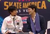 【映像あり】島田高志郎 SPを終える! 「トーループの動作の時にかたくなって2Tになってしまった…攻撃的な気持ちが空回った」