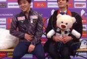 【映像あり】宇野昌磨のショートの演技後…ステファン・ランビエルへの感謝の言葉が殺到…