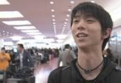 羽生結弦 GPS NHK杯2019 出場へ帰国! 「いい感じに調整できた。一生懸命頑張りたい」と意気込みを話しました。