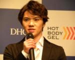宇野昌磨  が 初CMに挑戦「笑ってしまうと思う」…「DHC ホットボディジェル」のテレビCM発表会で。