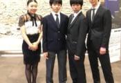 グランプリファイナル バンケットの写真が公開! チームジャパン、紀平梨花・羽生結弦 の2ショット…