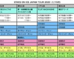 STARS ON ICE JAPAN TOUR 2020  出演予定スケーター第2弾発表! …羽生結弦(八戸公演) 宇野昌磨 宮原知子 紀平梨花… 八戸公演は 1/25 11:00~ 抽選先行スタート。