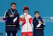 鍵山優真 がユースオリンピックの終了を報告! …個人戦で1位、NOC団体混合で2位になることができました。…この期間で色んな交流があってとても楽しかったです。…