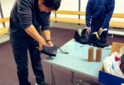 宇野昌磨、スイス戻り後に世界選手権の為に急ぎで靴作成!  …宇野樹が報告…日本から来てくれた職人さんに感謝…