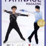 『PATINAGE』最新号、ダメモト予約で受付中!  …羽生選手と宇野選手が表紙 & 羽生選手大ショット掲載も…