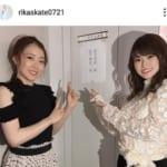 紀平梨花、姉・萌絵さんと白黒コーデ姉妹ショット「大人っぽくて綺麗」「美人姉妹」