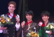 ロシア杯男子表彰式画像まとめ!動画あり。感動と優しさに包まれた表彰式!