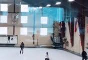 最新の羽生結弦が発見される!氷上の上にいる!!